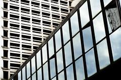 The city mirror (Mar_*Kor) Tags: windows lines skyscraper mirror geometry bologna 2011 fieradistrict