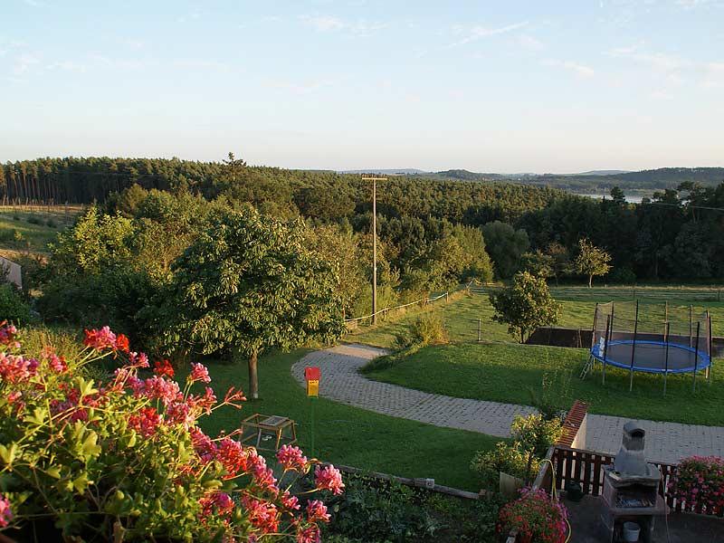 Kastanienhof Selz - Blick vom Balkon