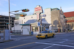 Check Cashing Place & Taxi on Pacific Avenue - Atlantic City, NJ (ChrisGoldNY) Tags: streets newjersey forsale nj taxis posters atlanticcity jersey ac cabs jerseyshore bookcovers albumcovers checkcashing jerze chrisgoldny chrisgoldberg chrisgold chrisgoldphotos