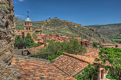 View  Vista de Albarracn, Teruel (Aragn, Spain), HDR 4 (marcp_dmoz) Tags: red espaa rot tower church wall photoshop spain rojo nikon torre dorf village view bell map pueblo iglesia kirche vista aragon handheld aussicht nikkor 1735mmf28d defensive muralla tone teruel hdr spanien campanario stadtmauer albarracin glockenturm photomatix tonemapped tonemapping tonemap guadalaviar rodeno aragonien d700 gettyimagesiberiaq3