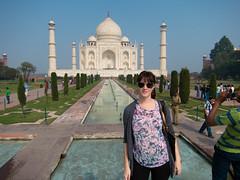 Haley @ The Taj Mahal