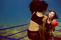 UW-ChineseBoxing 4 (steadichris) Tags: underwater models chinese scuba lingerie cebu boxing breathhold