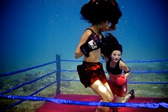 UW-ChineseBoxing 19 (steadichris) Tags: underwater models chinese scuba lingerie cebu boxing breathhold