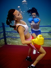 UW-ChineseBoxing 26 (steadichris) Tags: underwater models chinese scuba lingerie cebu boxing breathhold