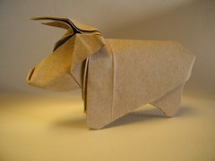 Highland Cattle  Barth Dunkan (AKA Magic Fingaz) (Rui.Roda) Tags: cow origami cattle magic bull highland dunkan papiroflexia barth toro vache vaca touro taureau fingaz