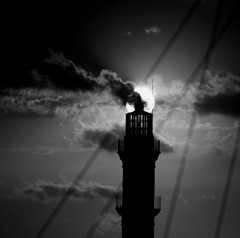 light house (Vasilis Amir) Tags: sunset blackandwhite lighthouse monochrome square landscape  mygearandme mygearandmepremium vasilisamir