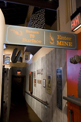 Enter Mine to Exit (IvanTortuga) Tags: usa mi mine unitedstates michigan exit negaunee miim michiganironindustrymuseum