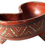 "<b>Tripod Kidney-shaped Redware Bowl</b><br/> ""Tripod Kidney-shaped Redware Bowl"" Ceramics, 300 BCE - 200 CE LFAC #908<a href=""//farm8.static.flickr.com/7032/6466197611_863c79bcef_o.jpg"" title=""High res"">∝</a>"