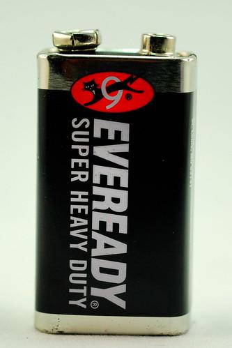 Eveready 9V battery