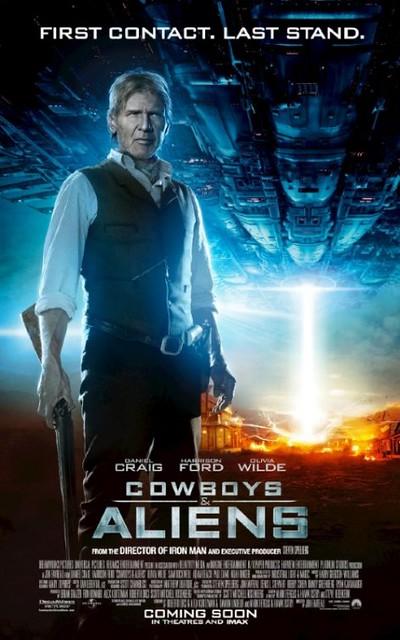 Filme Cowboys & Aliens Capa Poster 75 - Ação Bons Filmes Online