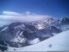 Jackson Hole (Jenndalyn) Tags: winter snow mountains west snowboarding skiing united western states wyoming tetons blizzard