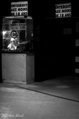 !!!  -18  !!! († Nicolas Blind †) Tags: street city portrait people blackandwhite bw white black france public architecture grenoble town blackwhite noir day post time noiretblanc candid year streetphotography streetportrait nb jour processing temps rue effect technique urbanism blanc ville gens lieux noirblanc urbanisme année candide postprocessing 2011 traitement posttraitement grenowalk