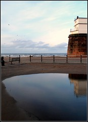 AFTER THE STORM - NEW BRIGHTON - (PARK@ARTWORKS) Tags: sea lighthouse storm wirral newbrighton merseyside fortperch