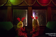 North Pole Express (Sassy Mouth Photography) Tags: christmas holiday train ride connecticut essex pajamas thepolarexpress northpoleexpress reindeerantlers redpolkadot sassymouthphotography redpolkadotconnecticutessexpolarexpresssassymouthphotographysteamtrainthepolarexpress