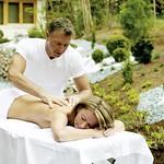 Massage im Aussenbereich