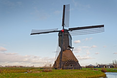 Noordeveldse molen - Dutch windmill (RuudMorijn) Tags: old winter sky holland green history mill tourism reed monument nature water netherlands ecology windmill dutch field grass wheel architecture rural landscape outdoors wooden construction energy europe village power natural wind antique farm traditional country sails scenic meadow culture machine landmark scene historic pump machinery land environment blade framework agriculture polder tranquil blades scoop lattice watermill molen landschap pumping rotate dussen vanes converting rotational scoopwheel rijksmonument poldermolen agricultuur noordeveldse molenstichtinglandvanheusdenenaltena