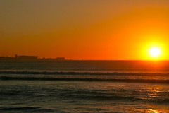 Tramonto sulla Table Mountain dal Woodbridge Island, Milnerton (Stefano Gambassi) Tags: africa sunset sea southafrica tramonto mare capetown milnerton sudafrica woodbridgeisland cittadelcapo