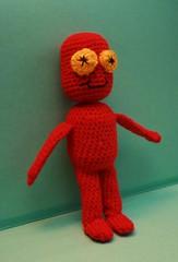 Puchatek (epka handmade) Tags: crochettoy crochetdolls recyclingtoy recyclingdolls szydekowazabawka szydekowalaleczka
