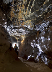 OFD 2 - South Wales (Steve-Sharp) Tags: water rock canon underground photography lights helmet descent boulders cave ladder caving formations cccp ofd stal caver scurion