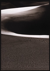 Kallitype Print - Great Sand Dunes NP (Zach Boumeester) Tags: park abstract digital sand nikon colorado desert alt f14 dunes great 85mm arches negative national falcon epson polar process vivitar walimex alternative bower 2200 ohp altprocess kallitype platine opteka samyang pictorico rokinon d300s