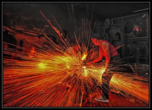 F_DDF_6379-1-打鐵要趁熱-人工-Manual-鍛造-Forging-鐵塊-Iron Piece