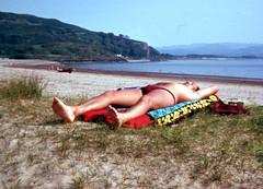 Ganavan Sands (pj's memories) Tags: beach scotland seaside briefs oban slip speedo brief sunbathing speedos bulge ganavan intersparta