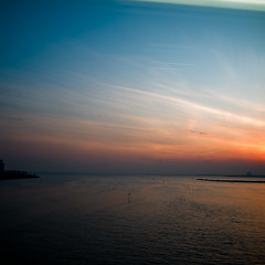 Statified Sunset, Pre Solstice (jacob schere [in the 03 strategically planning]) Tags: blue sunset sea sky seascape water digital square landscape bay twilight skies dusk jacob 4 communication solstice gr lucid iv ricoh stratified tokyobay tokyojapan layered m2c schere dgr presolstice jacobschere lucidcommunication