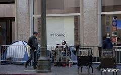 Mock Apple Store Downtown LA - Samsung Galaxy Commercial (STERLINGDAVISPHOTO) Tags: commercial downtownla filmproduction onsetlacom mockapplestore