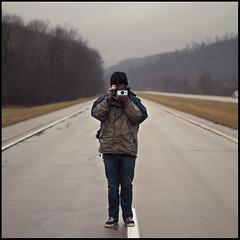 198 (Tmkpnhfr) Tags: road winter polaroid highway jon medina