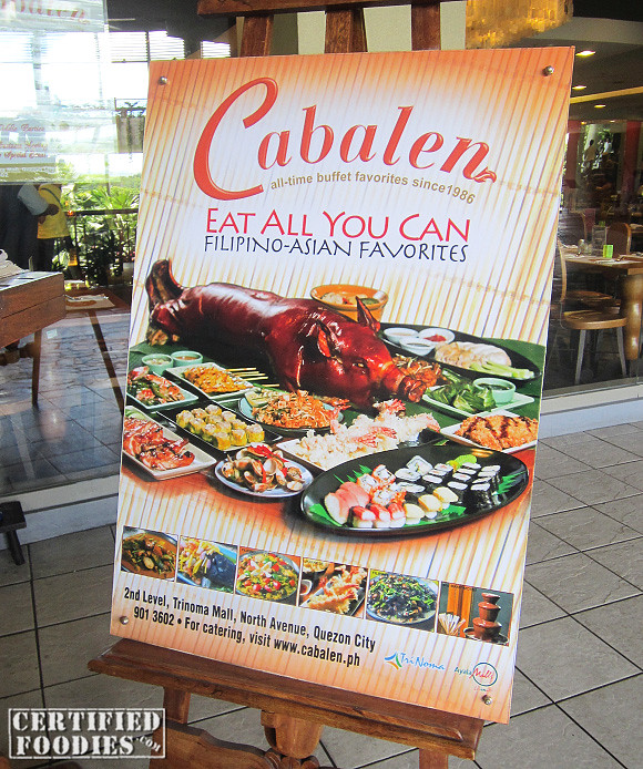 Cabalen Eat All You Can Filipino Asian Favorites