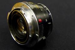 Leica Summicron-C 40mm f2.0 lens (wZa HK) Tags: camera leica lens f2 40mm wetzlar cameraporn summicronc f20 leitz