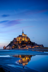 Mont Saint Michel, France (Beboy_photographies) Tags: saint de soleil mark coucher le ii 5d normandie michel crpuscule mont beboy