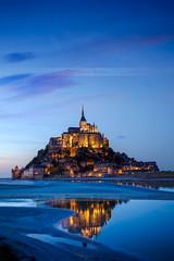 Mont Saint Michel, France (Beboy_photographies) Tags: saint de soleil mark coucher le ii 5d normandie michel crpuscule mont beboy