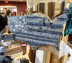 blue jean usa (zen) Tags: usa us downtown jean crafts flag arts craft jeans denim packplace zensutherland ashevilleartmuseum thebigcrafty bigcrafty 20111204