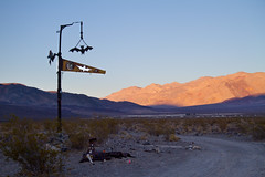 Saline Valley Hot Springs (geekyrocketguy) Tags: california park hot sign death unitedstates bat national springs valley saline