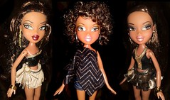 The Golden Divas! (Bratz Guy) Tags: girls fashion dolls lasvegas sasha fabulous mga bratz stepout bratzparty