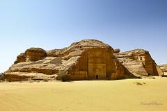 Madin Sleh (Venerdi Pictures) Tags: world sculpture mountain color heritage sports nature landscape desert who top petra rocky jordan un saudi arabia jeddah potrait saleh mekkah tabuk madain