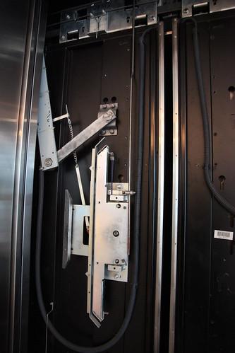 Modern Otis inside car door system