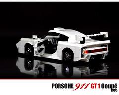 LEGO Porsche 911 GT1 Coupe - 1995 (Malte Dorowski) Tags: lego 911 porsche 1995 gt1 foitsop