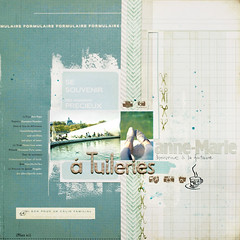 anne-marie aux tuileries :: bienvenue a la fontaine (ania-maria) Tags: blue paris feet scrapbooking layout cyan lo annemarie rest tuileries bienvenue annamaria scrap fontaine aniamaria