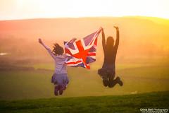 Flying the Union Jack - Jump #50 of #100 (Olivia L'Estrange-Bell) Tags: autumn jump jubilee flag autumnleaves unionjack jumps englishcountryside autumnsun britishflag godsavethequeen diamondjubilee flytheflag canoneos5dmarkii oliviabell oliviabellphotography 100jumps 100jumpsproject 100jumpphotographs jubilee2012 flyingthebritishflag tbsart