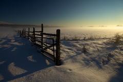 My Home Town (Perry McKenna) Tags: mist snow cold fog rural sunrise canon fence farm hometown ottawa week1 carp icefog nopostprocessing 2012 1740l hff allnatural notsand shotat17mm fencedfriday 522012 weekofjanuary1 52weeksthe2012edition justapolarizer