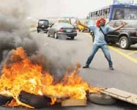Nigerian labor organizations have called for mass protests in opposition to the cancellation of fuel subsidies which drove up the price of petroleum. The oil-producing state has not provided benefits for the masses. (Pan-African News Wire File Photos) Tags: against protests fuel nigerians elimination subsidies