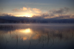 Lake 7of12 (sparth) Tags: seattle morning lake reflection fog clouds washington december foggy redmond pacificnorthwest series usm washingtonstate brouillard marymoor lakesammamish ef70200mm 70200f4l 2011 marymoorpark f4l ef70200mmf4lusm 5dmkii