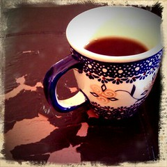 Morning Cuppa    1/8/12 (skinsbbc) Tags: cup table tea htc skinsbbc yesthatsmycoffeetableitsafakeleatherottomanthathasacomfortablewornlook