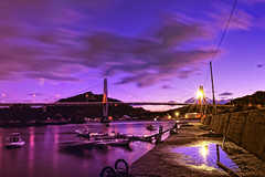 Stillness in the motion (y2-hiro) Tags: light seascape reflection sunrise skyscape nikon purple le d3s