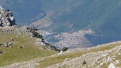 Morano Calabro dal Monte Pollino