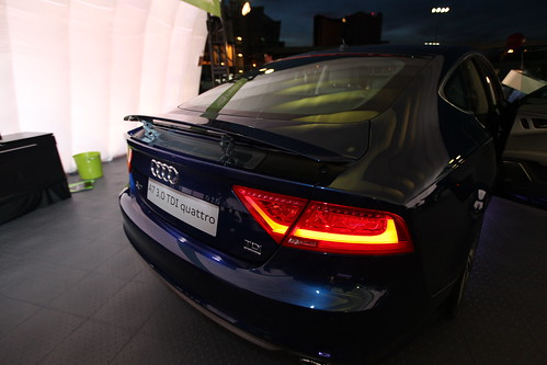 ces audi a7 nightvision nvidia thermalimaging infotainment tegra ces12 ces2012