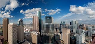 Houston Skyline Panoramic