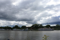 river boats and clouds (sassyseltzer) Tags: stpaul mn labordayweekend summerslasthurrah reallyfun staycation